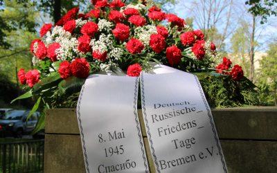 Dank an die Völker der Sowjetunion – Kranzniederlegung in Bremen
