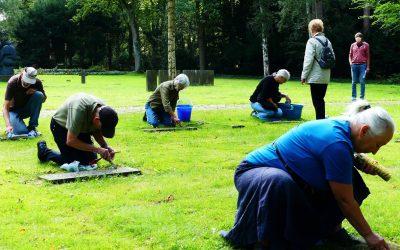 Ehrung ausländischer Naziopfer auf dem Bremer Osterholzer Friedhof