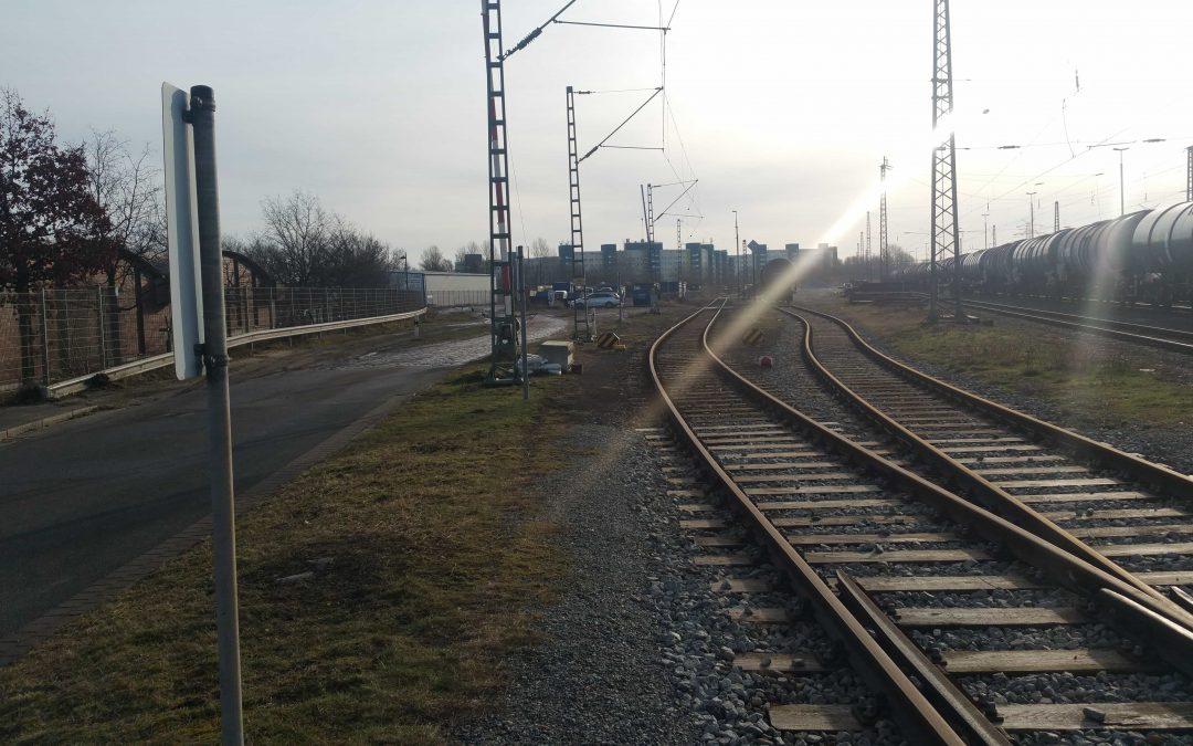 Geplantes Bahnbetriebswerk auf dem Massengrab von Kriegsgefangenen