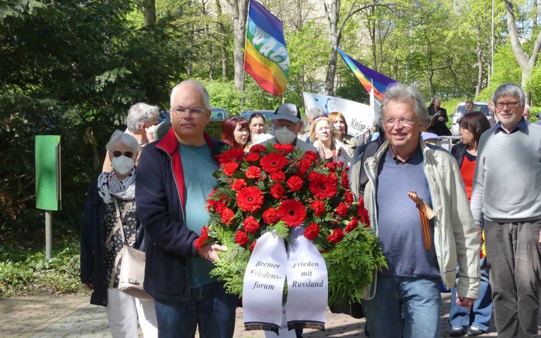 Kranzniederlegung und Friedensfeier zum Tag der Befreiung – 9. Mai