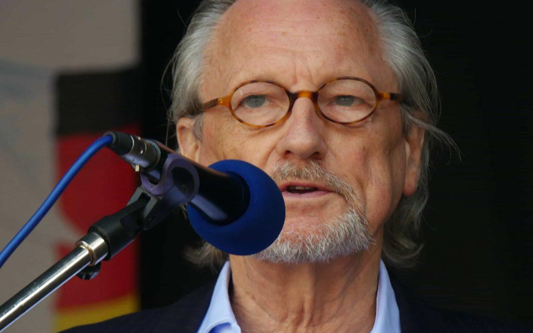 """Rede von Peter Brandt auf der Kundgebung """"Nie wieder gegeneinander –  Gemeinsam für Frieden"""" am 22. Juni 2021 in Bremen"""