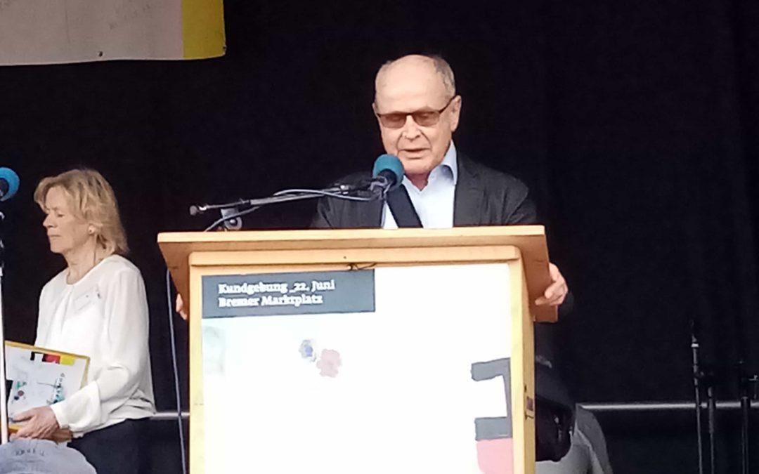 Redebeitrag Hartmut Drewes zur Gedenkveranstaltung am 22. Juni