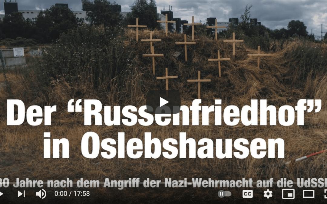 """Videobericht über die Gedenkveranstaltung am """"Russenfriedhof"""""""