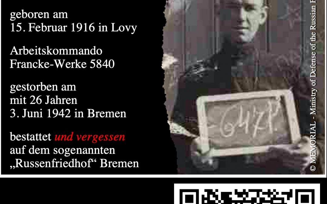 """Petition """"Einrichtung einer NS-Zwangsarbeiter:innen-Gedenkstätte in Bremen-Oslebshausen"""""""